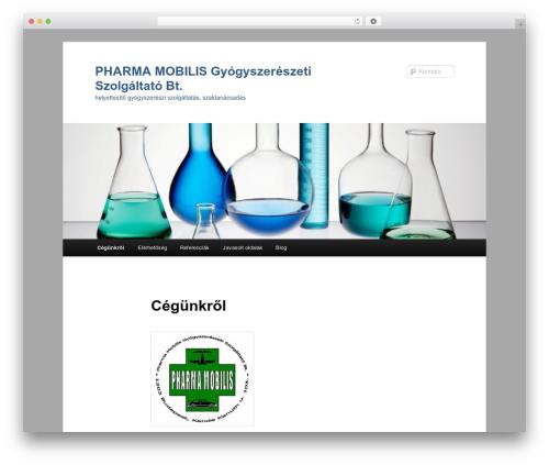 Twenty Eleven best WordPress theme - pharmamobilis.hu