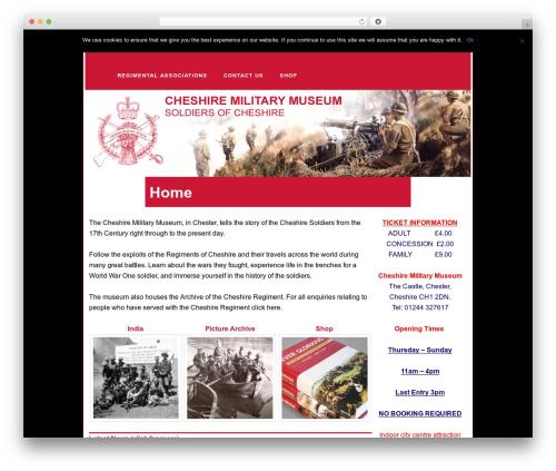 Twenty Eleven WordPress theme download - cheshiremilitarymuseum.co.uk