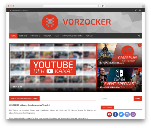WordPress template Awaken Pro - vorzocker.de