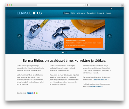 Free WordPress WP Simple Galleries plugin - eermaehitus.ee