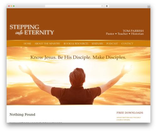 WordPress theme Pure Simple Pro - toeternity.org