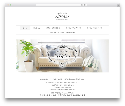 WordPress theme Slauson - kirali.info
