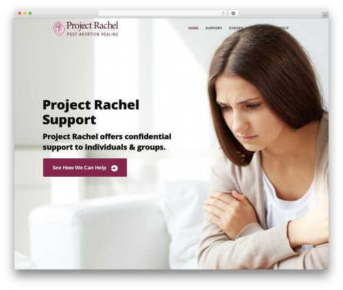 WP template Charity Is Hope - projectrachel.ca