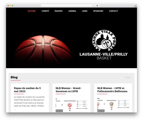 AllStar WordPress theme - lvpb.ch