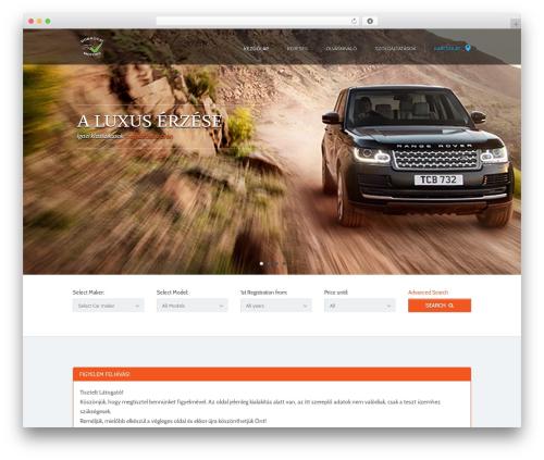 AutoTrader Child car rental WordPress theme - dobrocsi-motors.eu