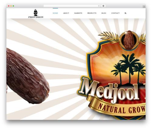 Avada food WordPress theme - provision.com.my