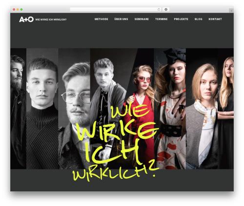 Best WordPress theme Bridge - wiewirkeichwirklich.de