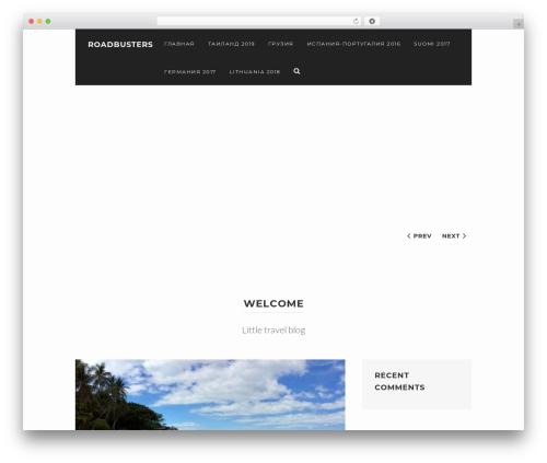 Best WordPress theme WPVoyager - roadbusters.ru