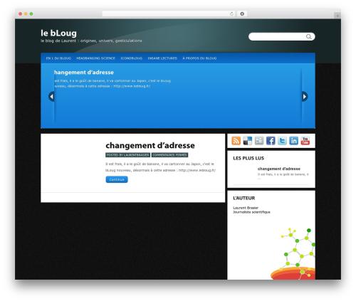 Calypso WordPress blog theme - laurentbrasier.free.fr