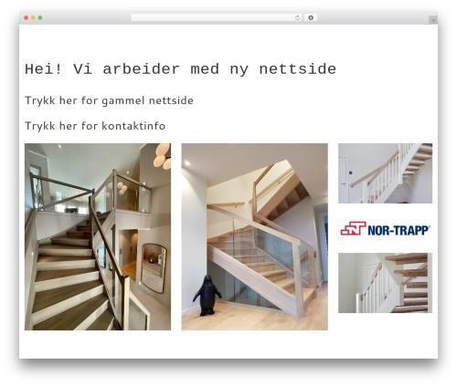 Carservice theme WordPress - nortrapp.no