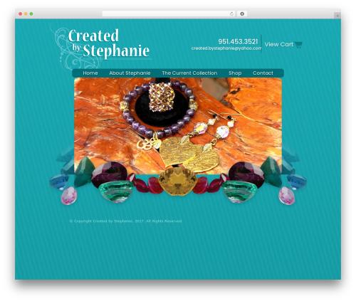 Custom Theme WordPress template for business - createdbystephanie.net