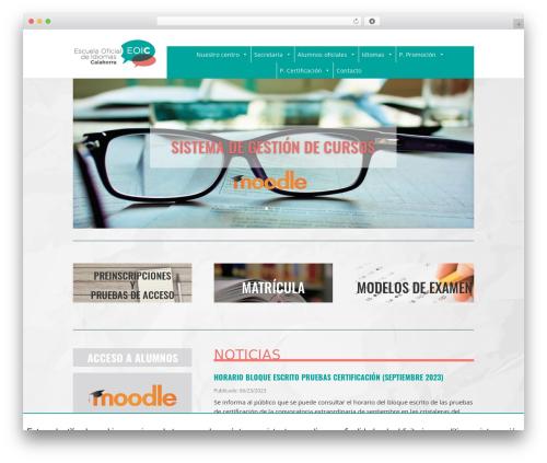 WordPress megamenu-pro plugin - eoicalahorra.es