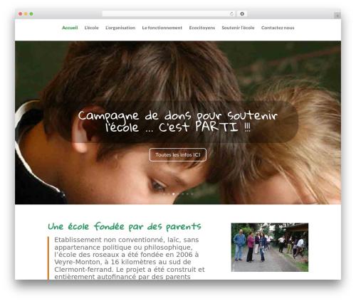 Divi top WordPress theme - ecoledesroseaux.fr