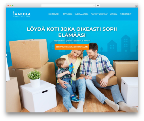 Divi WordPress page template - jaakola.fi