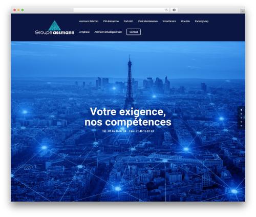 Divi WordPress theme - groupe-assmann.fr