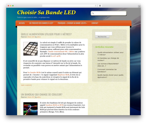 ePublishing WordPress theme - choisir-sa-bande-led.fr