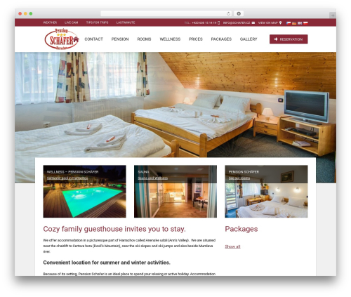 Hotec WordPress theme - schafer.cz