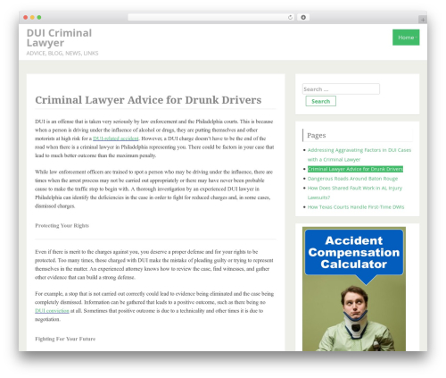 IndiBiz WordPress template free download - criminallawyerphiladelphia.net