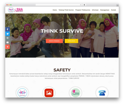 OnePirate WP template - thinksurvive.org