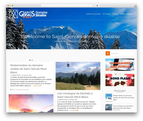 Pinnacle theme WordPress free - blog-saintgervais.ski