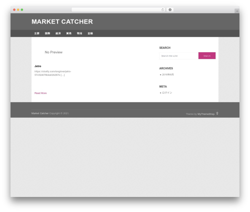 Portal by MyThemeShop WordPress store theme - market-catcher.net