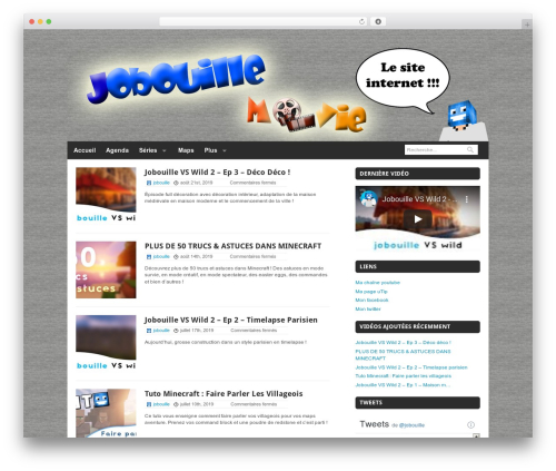 Quik Wordpress Theme WordPress theme - jobouillemovie.free.fr