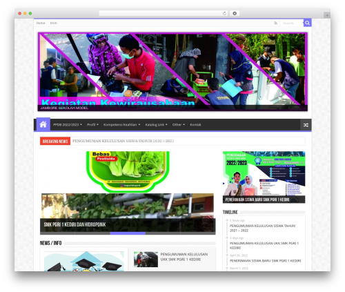 Sahifa | Shared By Themes24x7.com WordPress theme - smkpgri1kediri.sch.id