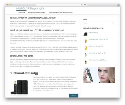 Sensational by MyThemeShop WordPress ecommerce theme - hiustenhoito.org