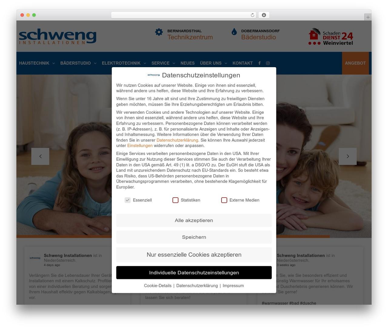 TheBuilt template WordPress - schweng.at