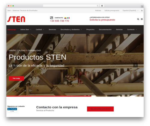 TheBuilt WordPress theme - sten.es