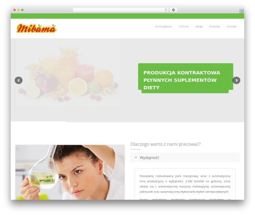 Theme WordPress OrganicFood - mibama.pl