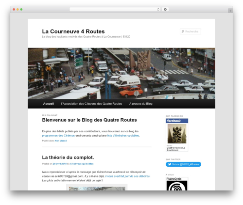 Twenty Eleven top WordPress theme - lacourneuve4routes.free.fr