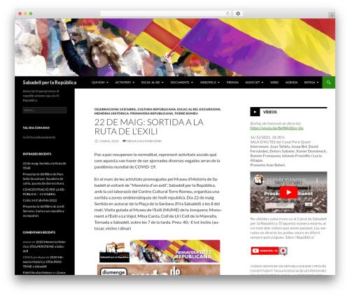 Free WordPress This Day In History plugin - sabadellperlarepublica.cat