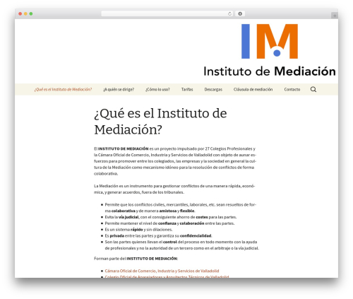 Twenty Thirteen theme WordPress - institutomediacion.org