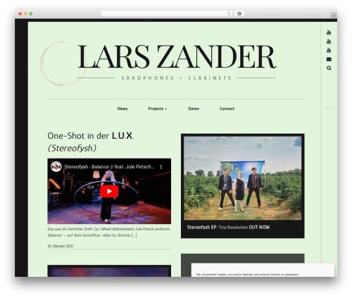 WordPress template Hive - larszander.net