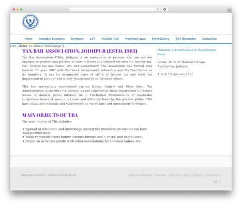 WordPress theme Florida (shared on wplocker.com) - tbajodhpur.org