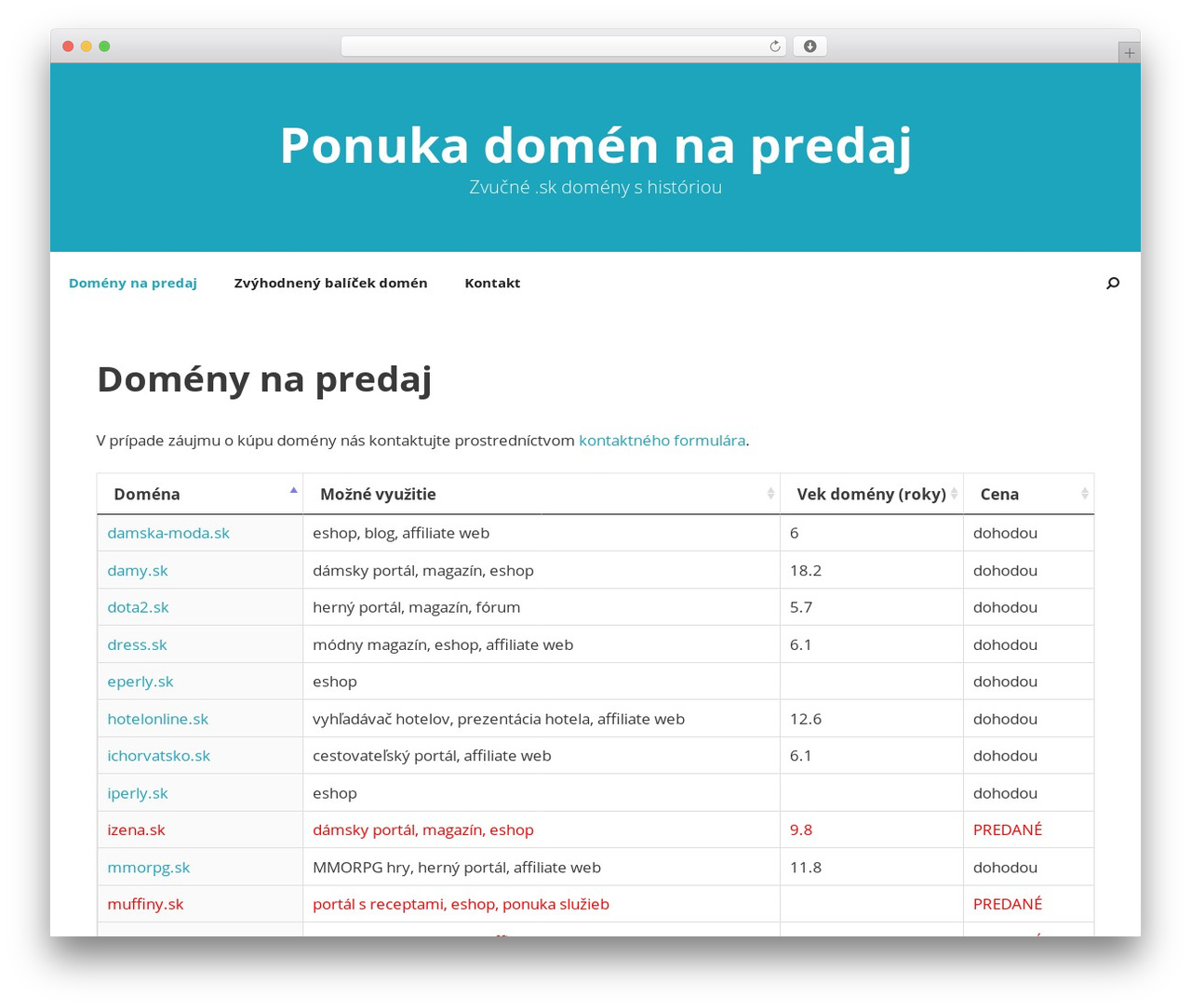 WordPress theme GeneratePress - ponukadomen.sk