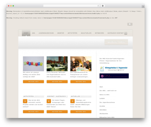 WordPress theme Wake - aka-aulendorf.de