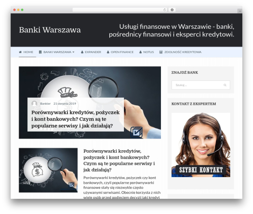 Writer by MyThemeShop WordPress ecommerce template - banki.warszawa.pl