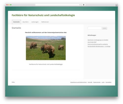 ColorLight WordPress theme - fbnl-eco.de