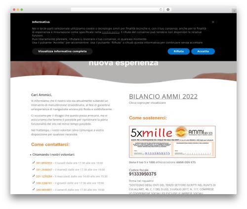 Enfold template WordPress - ammi-italia.it