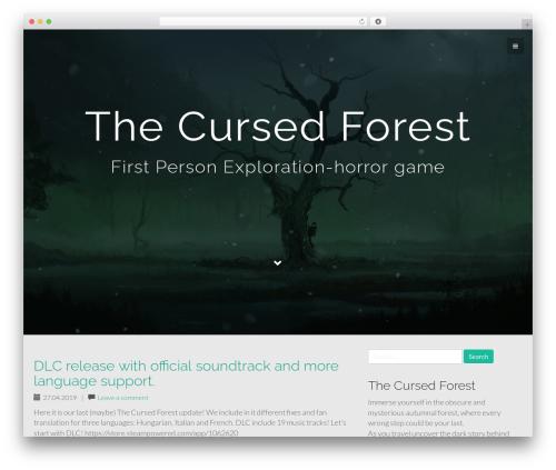 Flat Bootstrap WordPress theme download - thecursedforest.ru