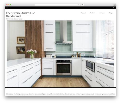Foxeed Lite theme WordPress free - ebenisterie-ald.ca