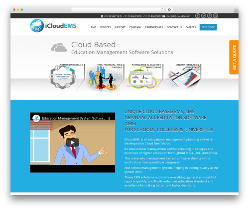 Lucy best WordPress theme - cloudems.in