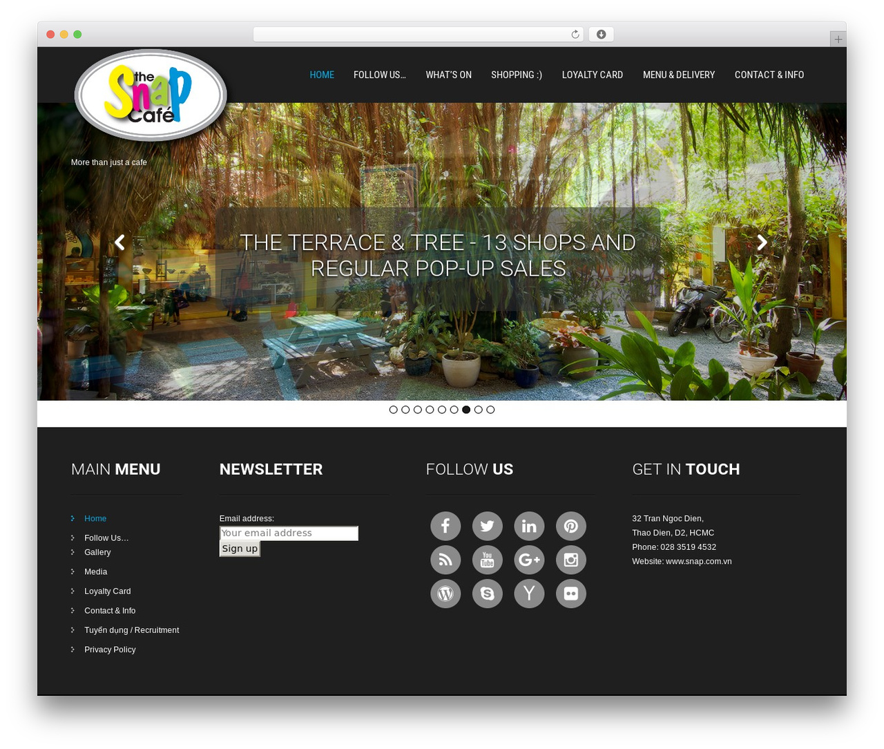 SKT Hotel WordPress hotel theme - snap.com.vn
