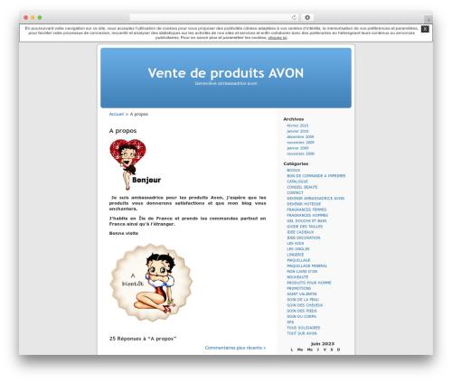 Thème par défaut WP template - genevieveambassadriceavon.unblog.fr