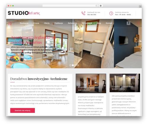 Theme WordPress HnK - studiodelarte.pl