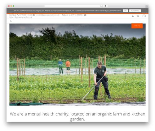 Theme WordPress Kocka - growingwell.co.uk