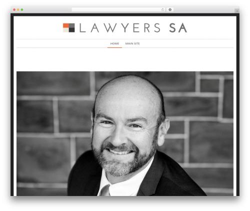 WordPress template Novalumen - timgriffin.lawyer