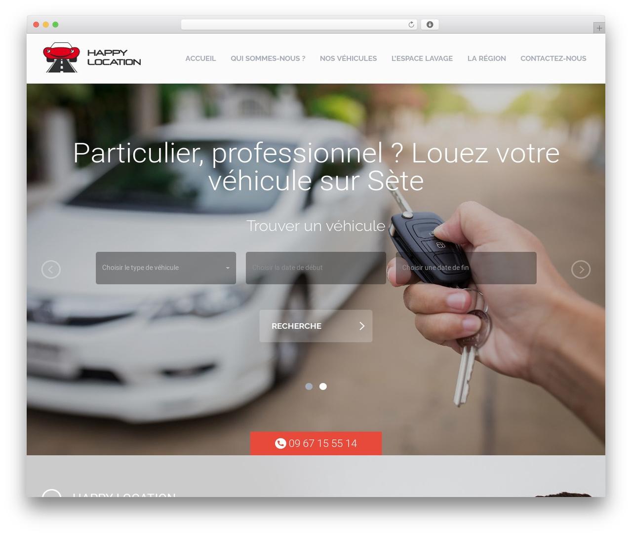 WordPress theme RentIt - happylocation34.fr